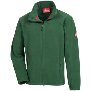 NITRAS MOTION TEX PLUS, Fleece-Jacke, grün